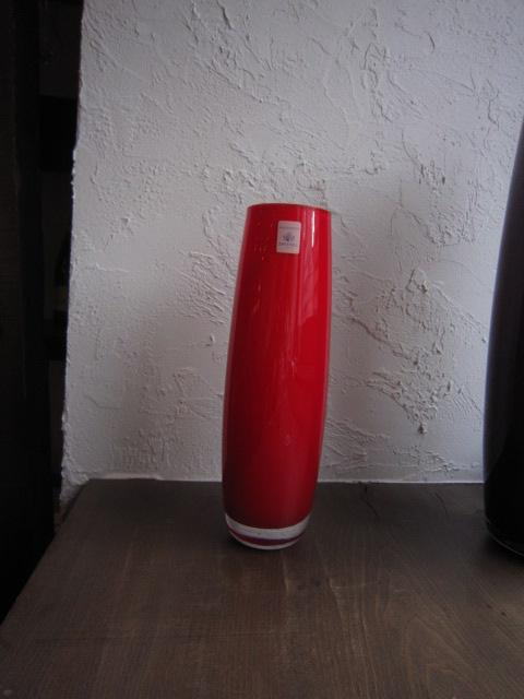 SAIKU(花瓶)レッド by ツヴィーゼルクリスタルガラス社