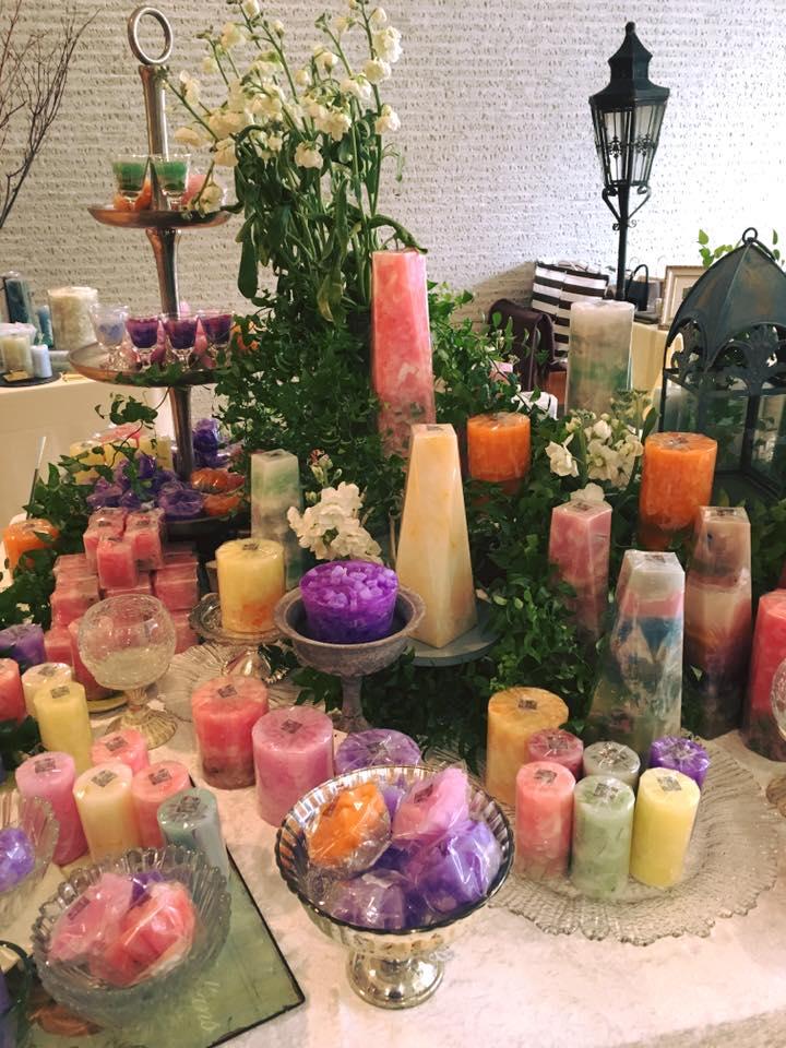 【ご紹介】米澤 純 キャンドル展 春の光ー色をめぐる旅ー