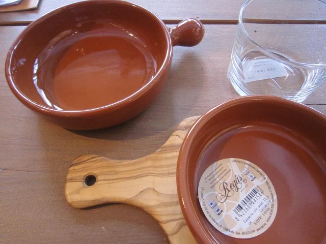 スペイン・レガス社の素焼きの器